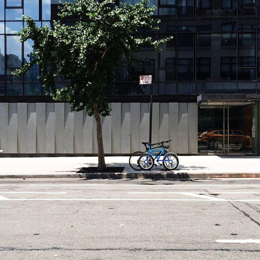 Brad Warsh projet Emoji IRL bike