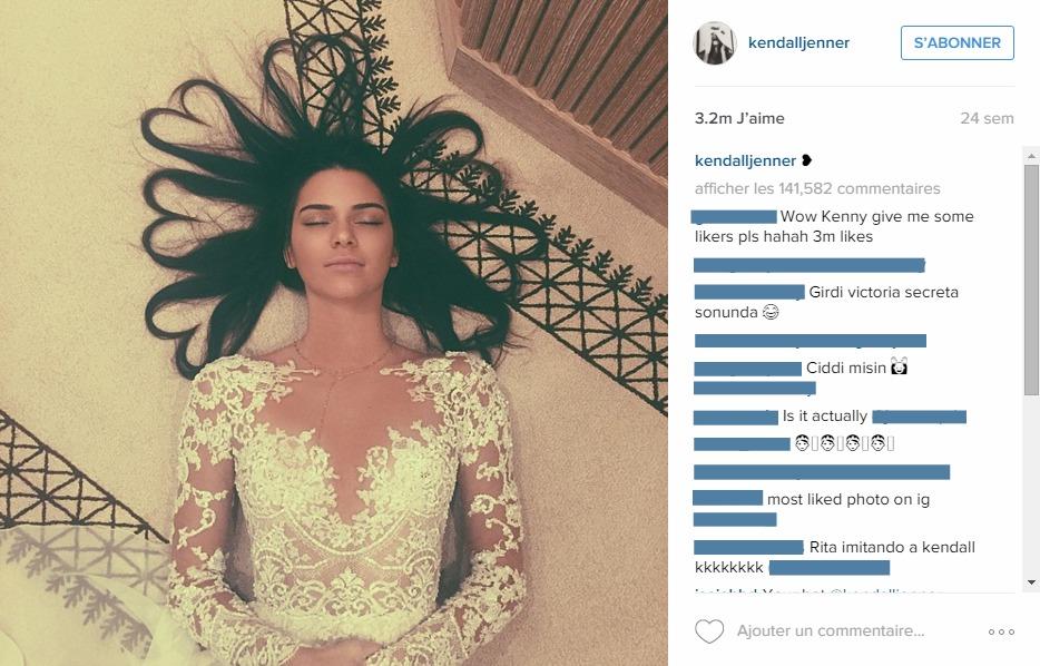 Kendall jenner instagram com