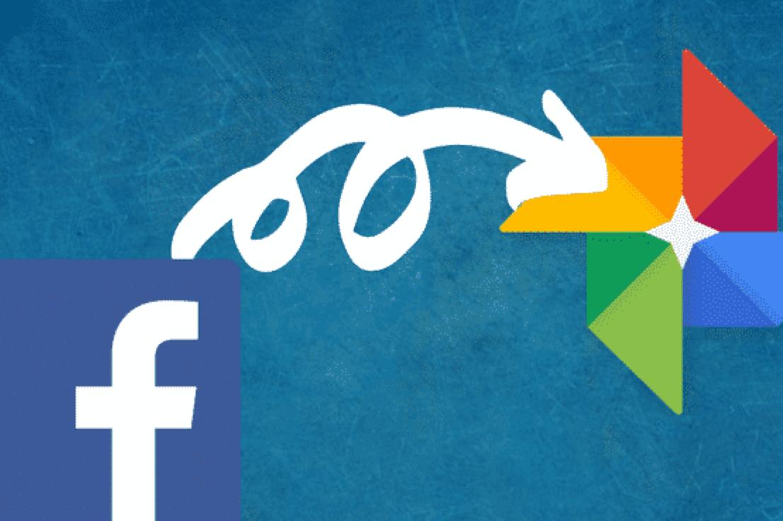 Transfert contenus de Facebook à Google Photos