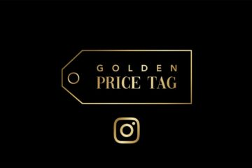 Golden Price Tag sur Instagram
