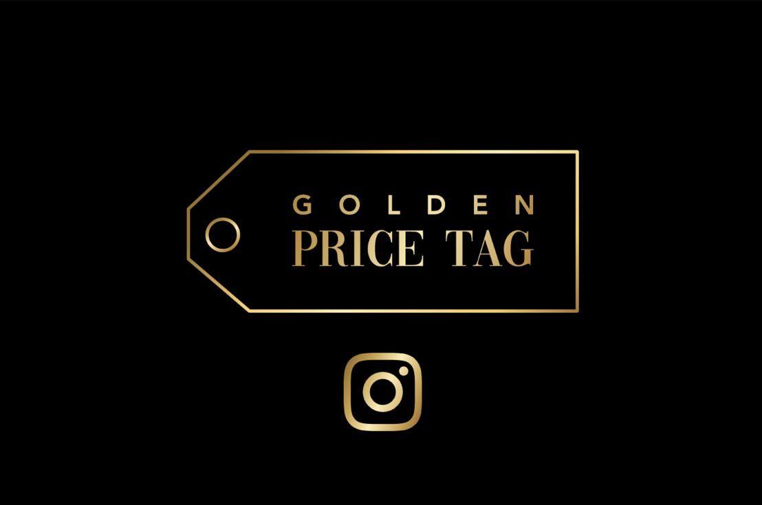 Golden Price Tag sur Instagram