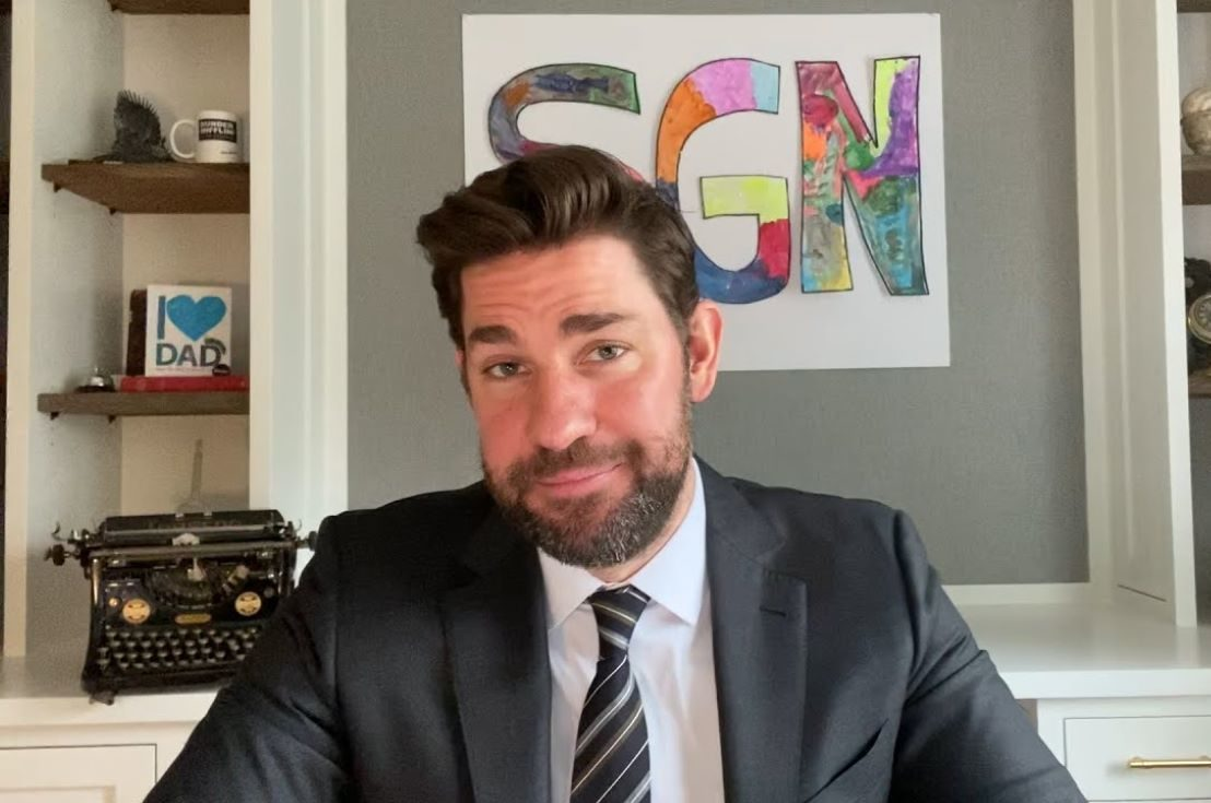 John Krasinski sur YouTube