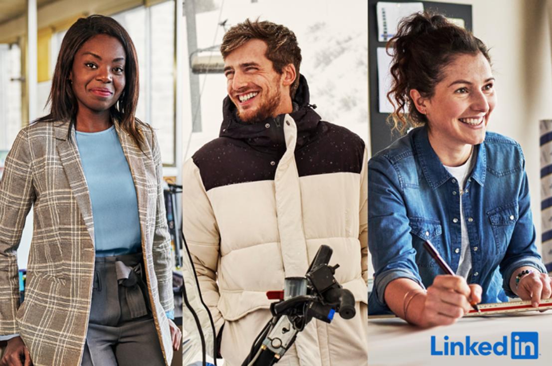 Campagne publicitaire LinkedIn