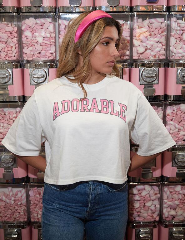 Tee-shirt Adorable