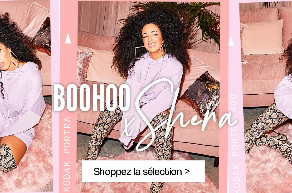 Shera et Boohoo collaborent