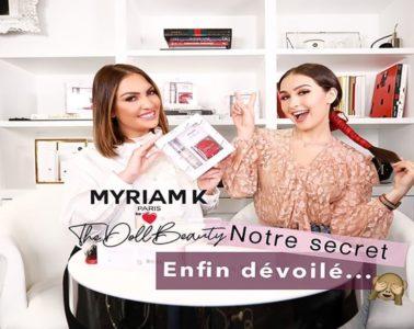 Collaboration entre Myriam K et The Doll Beauty