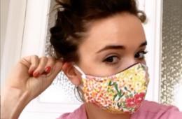 Make My Lemonade tuto Instagram masque coronavirus