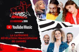 YouTube devient partenaire des NRJ Music Awards 2019