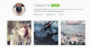 Compte instagram français