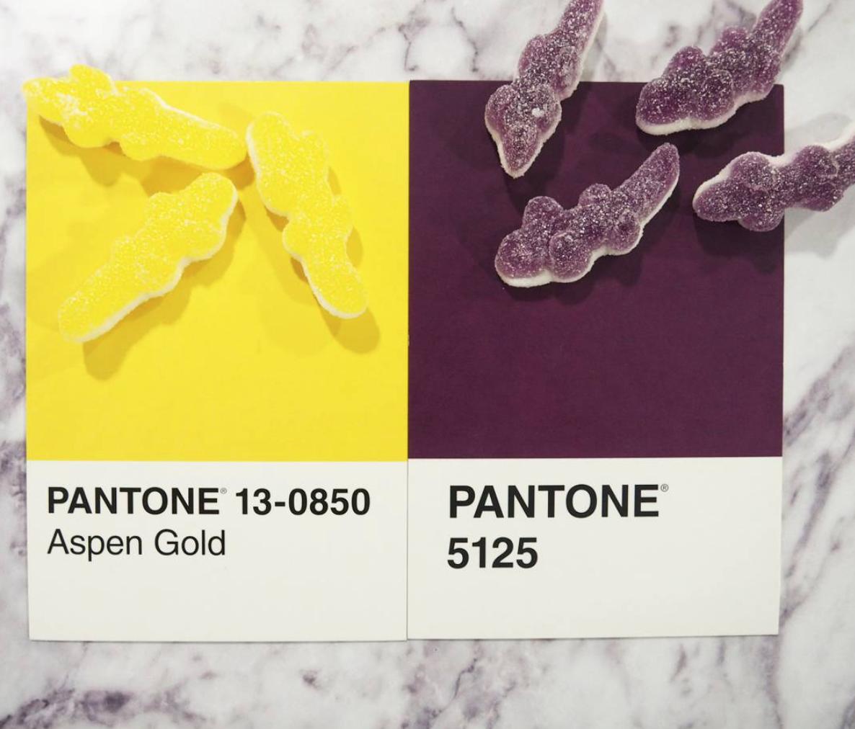pantoneIRL, couleurs et bonbons