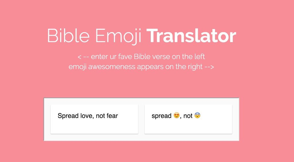 emoji-bible-translator