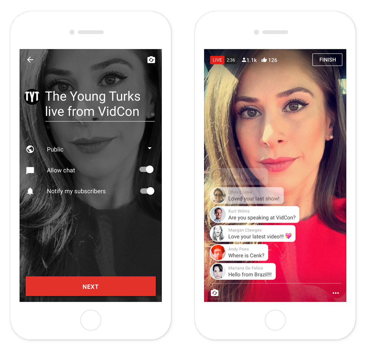 youtube-live-mobile-influenth