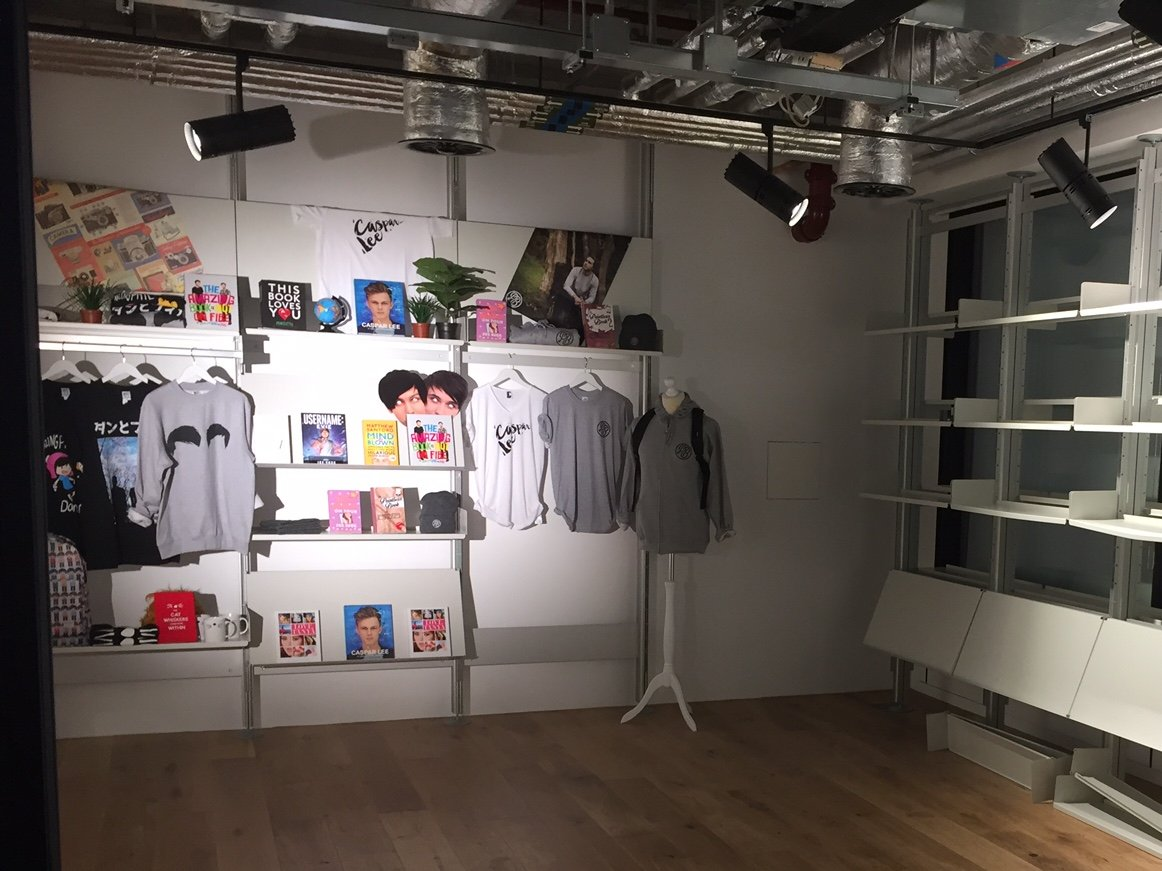 youtube-creator-store-londres-influenth