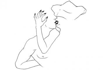 SafiaBahmedSchwartz, les illustrations érotiques