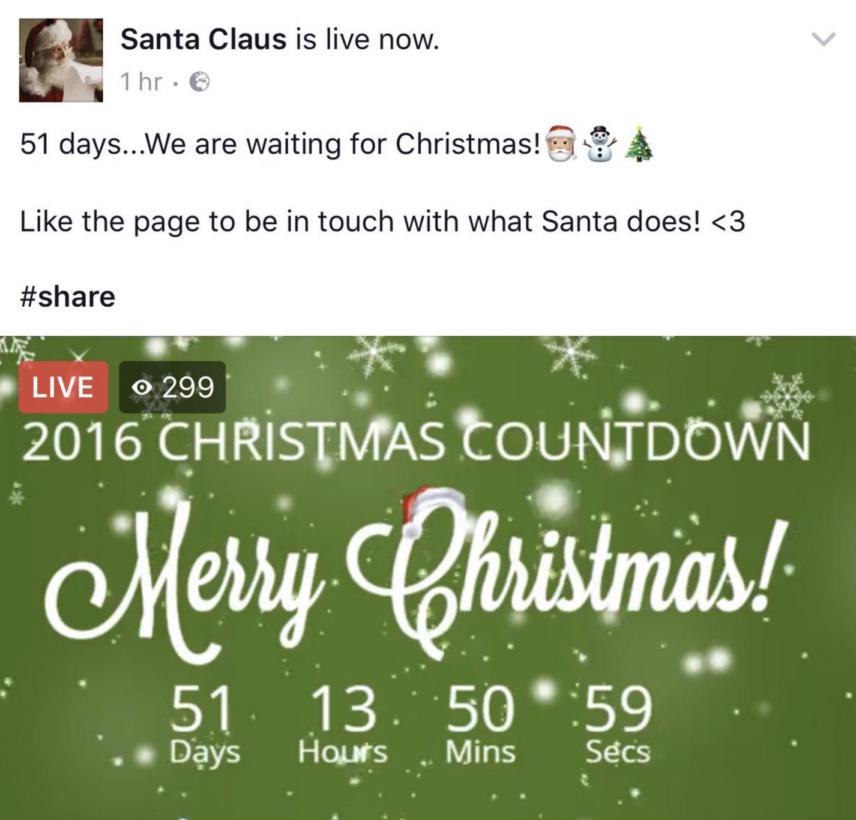 santa-claus-influenth-facebook