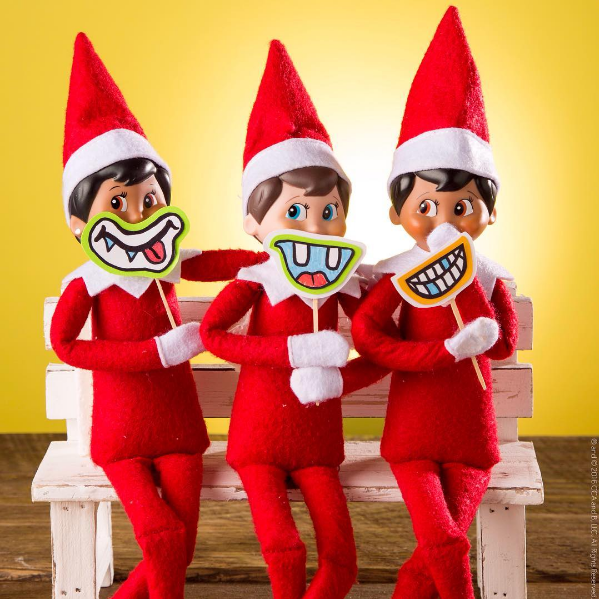 ElfOnTheShelf, les elfes de Noël