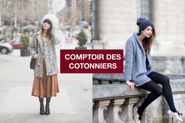The brunette et pauline fashion blog racontent leur plus - Le comptoire des cotonnier ...