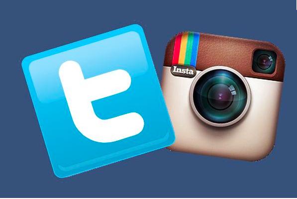 """Résultat de recherche d'images pour """"twitter instagram"""""""