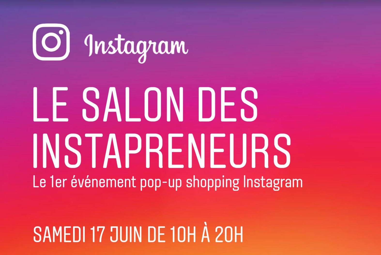 Instagram inaugure le tout premier salon des instapreneurs for Salon youtubeuse