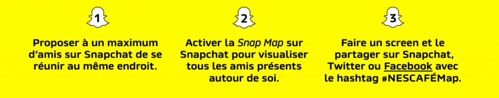 Snapchat Nescafé