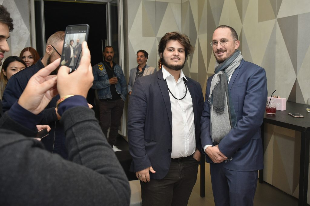 The Panda et Director Darren Aronofsky