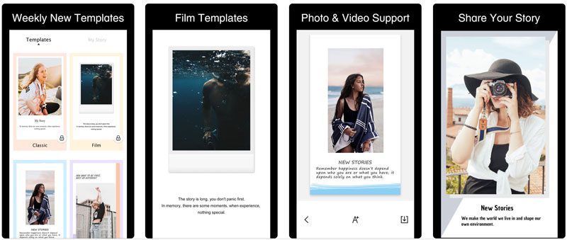 Application Story Art pour Customiser Instagram Stories