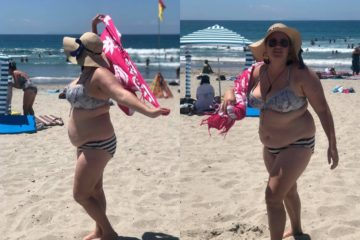 Victime de grossophobie à la plage, Shelly Proebstel dénonce sur Facebook