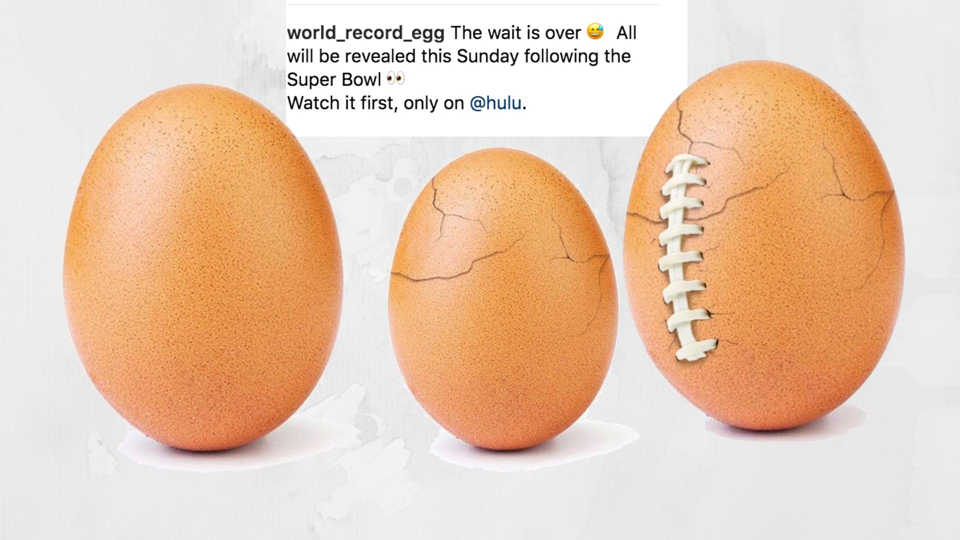 L'oeuf le plus populaire d'Instagram a brisé sa coquille