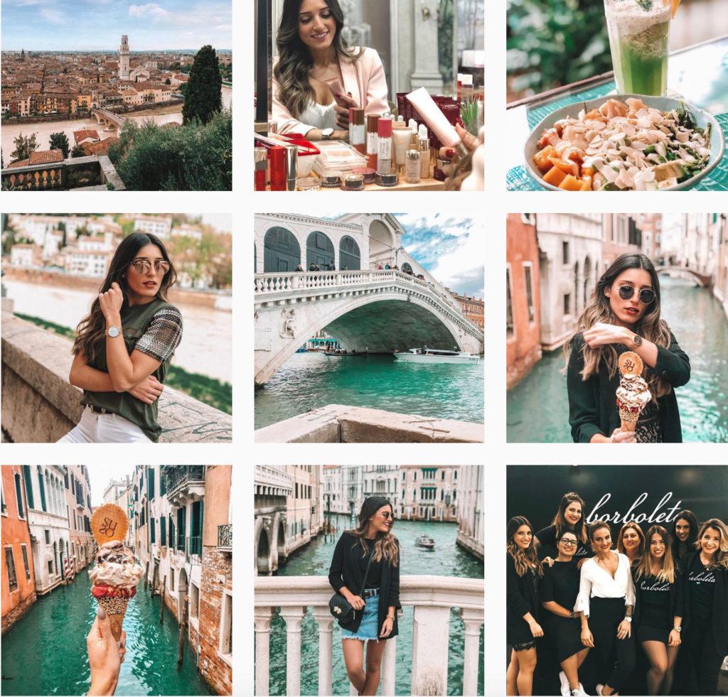 Booster son Instagram : un exemple de feed harmonieux