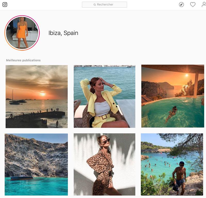 Trouver l'inspiration pour vos photos de vacances Instagram