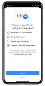 instagram messenger utilisateurs